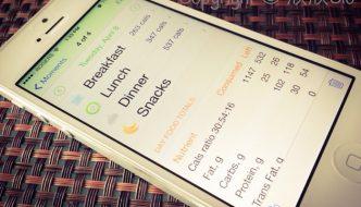 四個免費手機apps助你計算卡路里