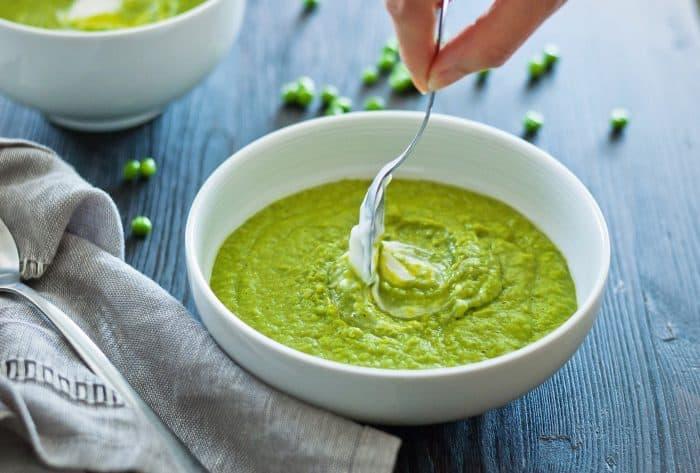 【蛋白粉食譜】薑黃椰香高蛋白碗豆湯Turmeric Coconut Pea Soup