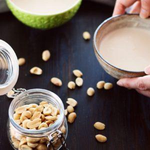 【蛋白粉食譜】花生糊糖水 只需三個食材