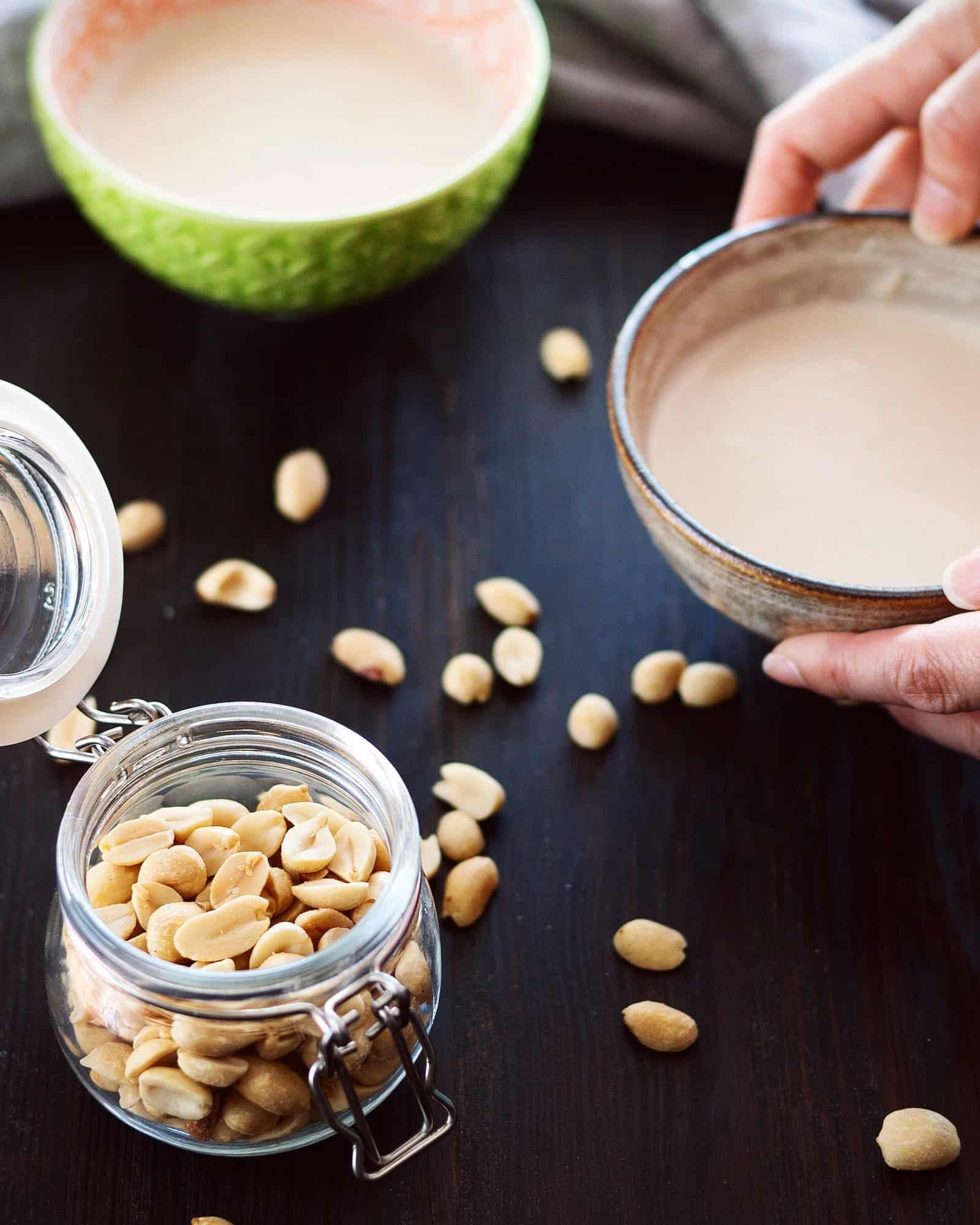 高蛋白花生糊糖水